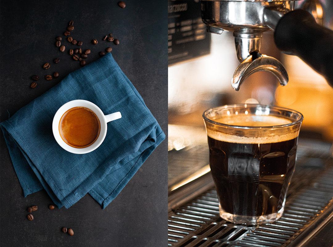 espresso o caffè americano